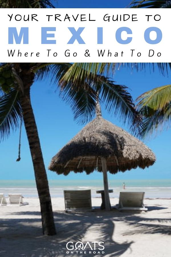 Isla Holbox with text overlay Your Travel Guide To Mexico