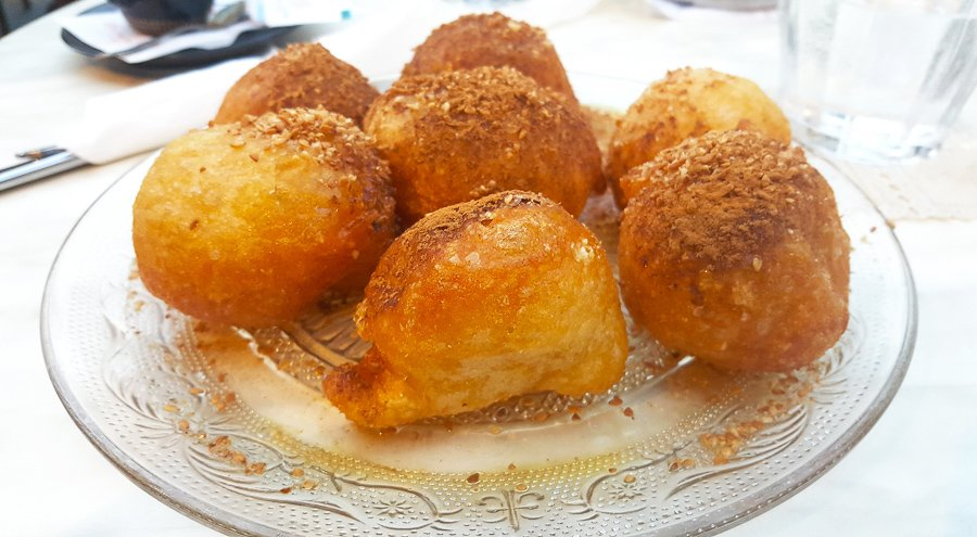 things to do in athens eat Loukoumades