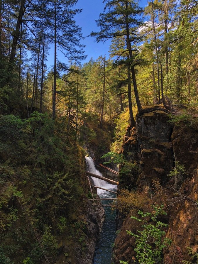 little qualicum falls national park