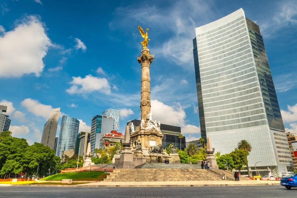 mexico city golden angel