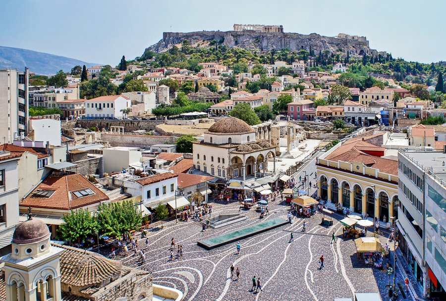 visit monistiraki square what to do in athens