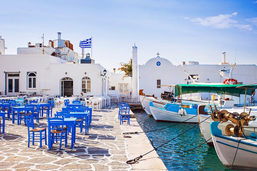 visiting paros greece