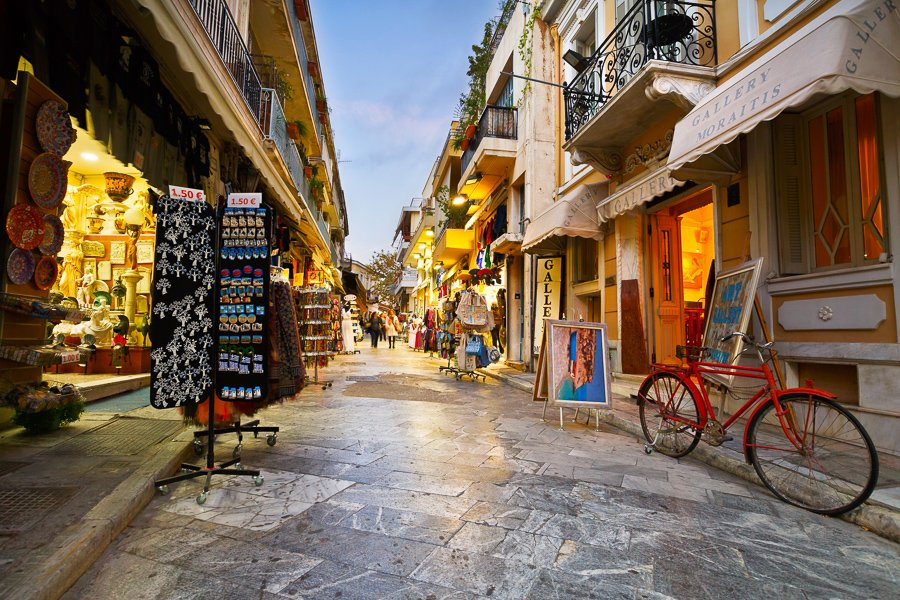 things to do in athens shopping in the plaka