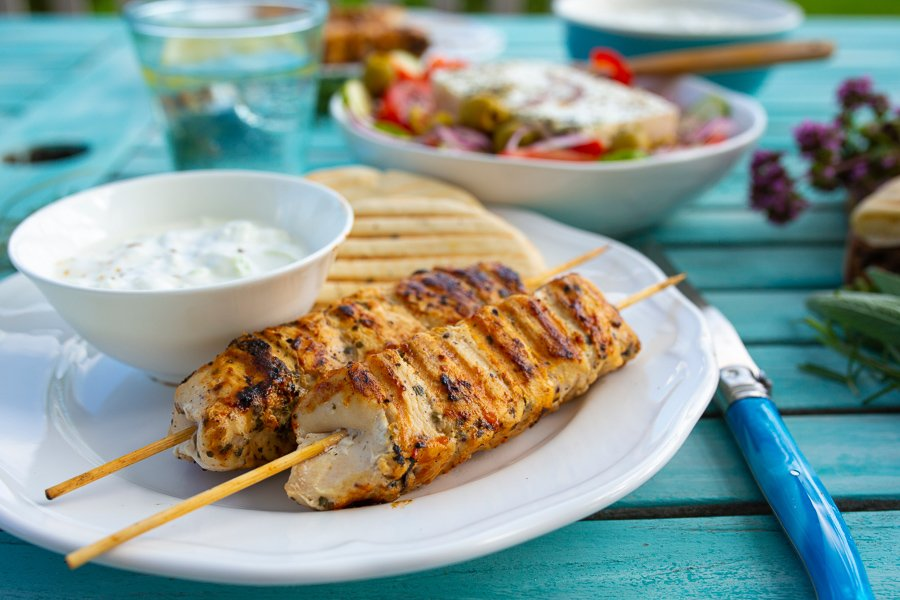 eating souvlaki is one of the best things to do in athens