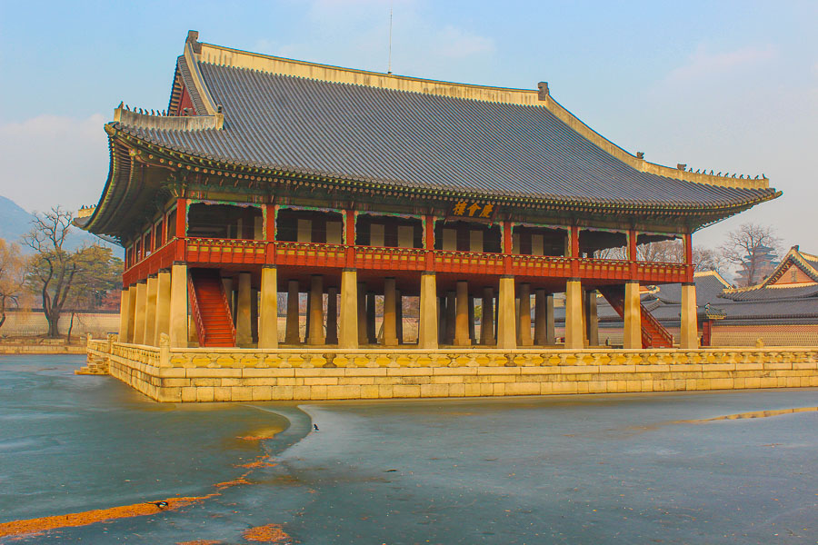 Gyeongbokgung Palace is one of the top places to visit in Seoul