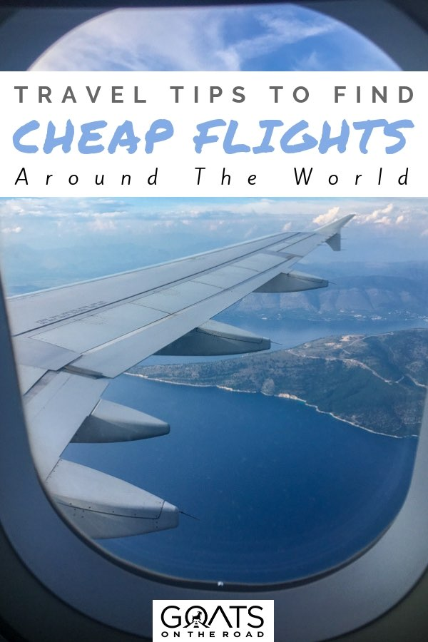 Planes on runway with text overlay How To Always Get The Best Flight Deals Backpacker Travel Tips