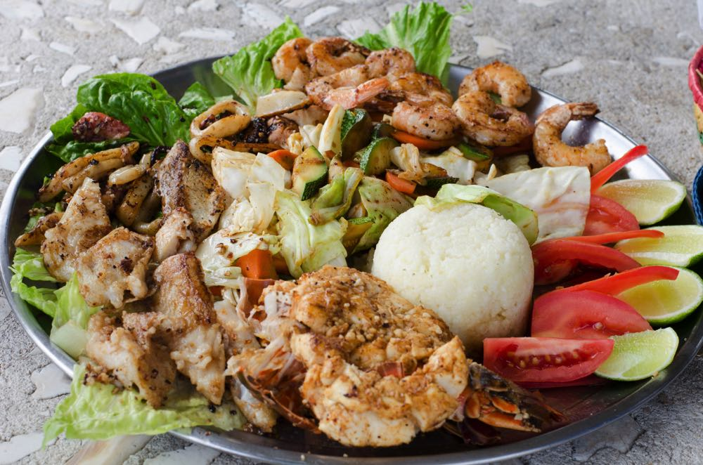 food in isla mujeres mexico