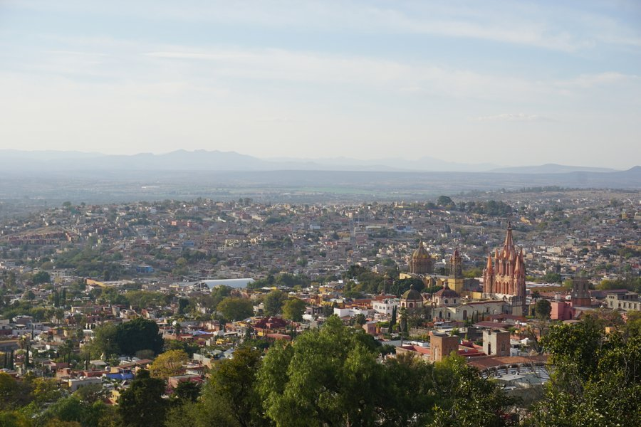 visiting a view point is one of the top things to do in san miguel de allende