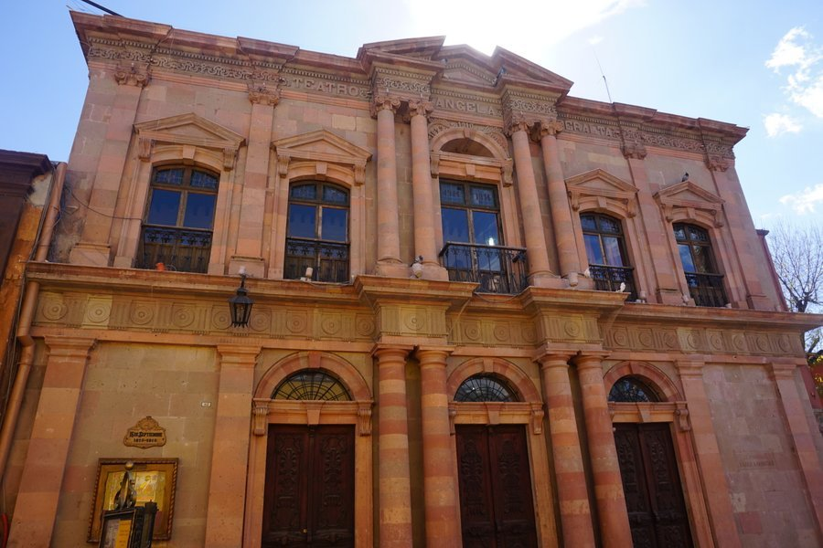 visiting the theatre is one of the best things to do in san miguel de allende