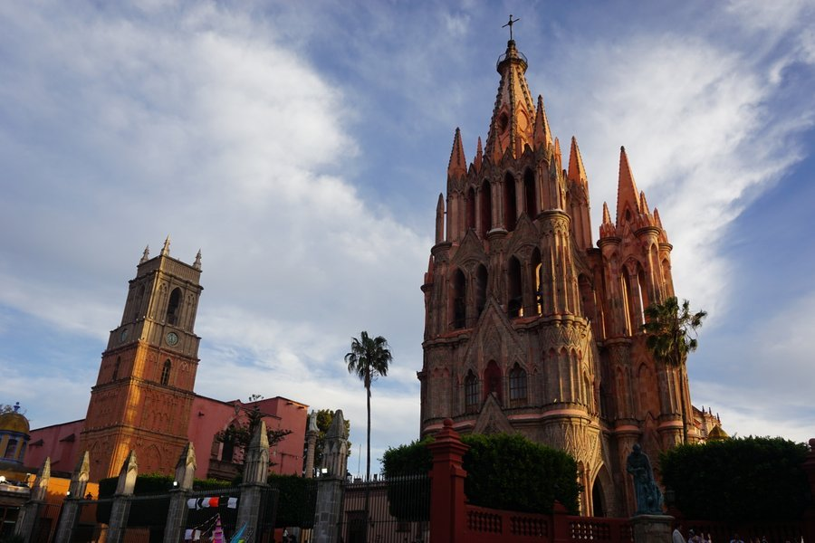 visiting the plaza is one of the best things to do in san miguel de allende