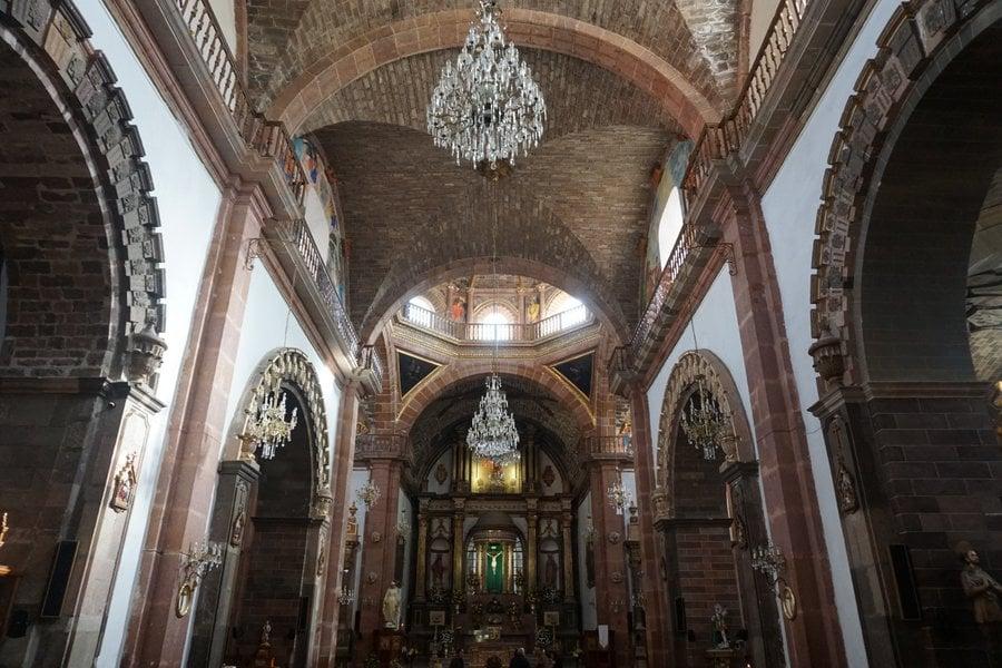 the parish church of san miguel de allende