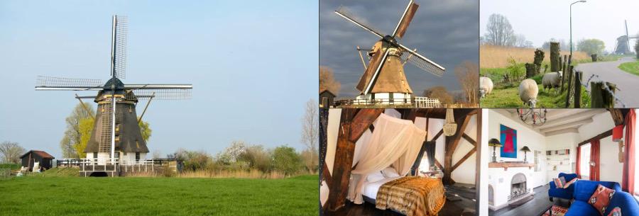 Amsterdam Windmill Airbnb Rental