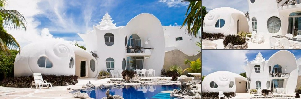 Seahouse Shell Unique Airbnb Rentals