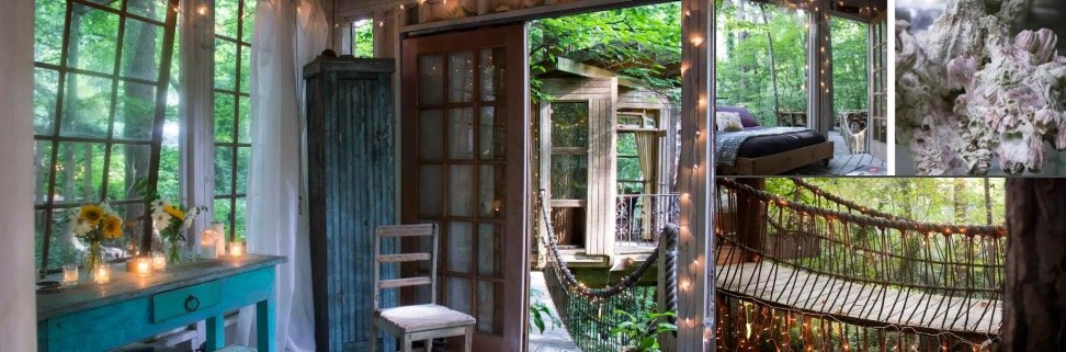 Treehouse Cool Airbnb Rental in Atlanta