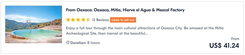 things to do in oaxaca tour