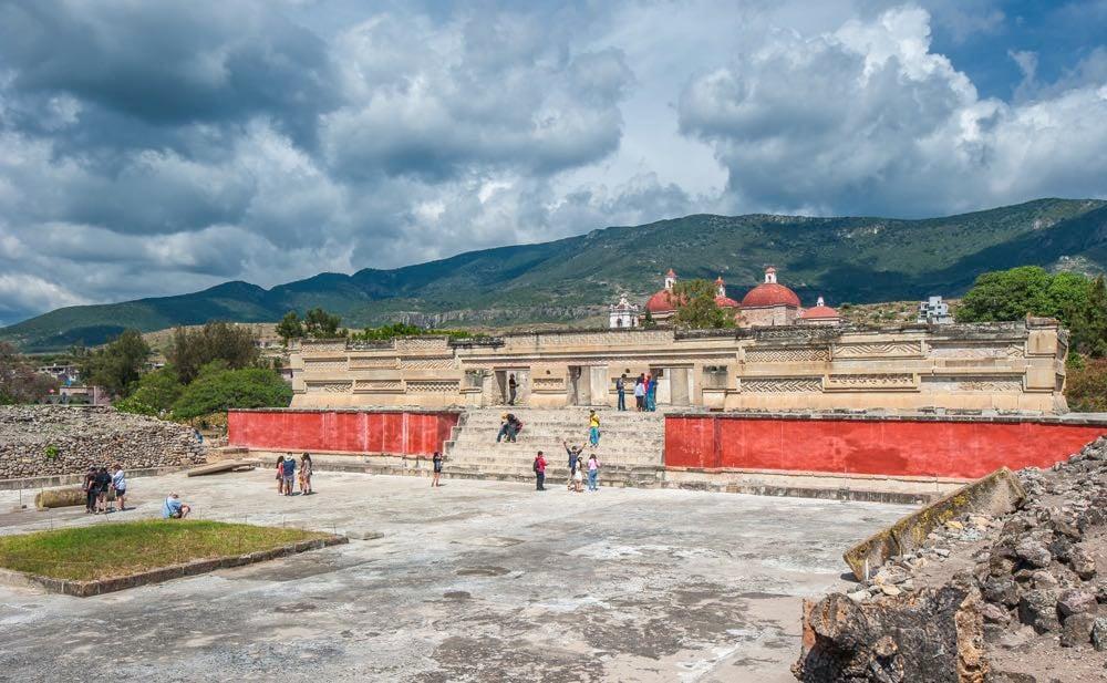 ruins of mitla oaxaca