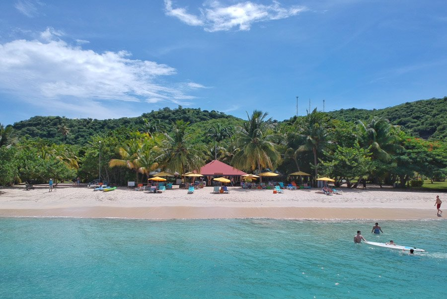 mount cinnamon grenada is located on grand anse beach