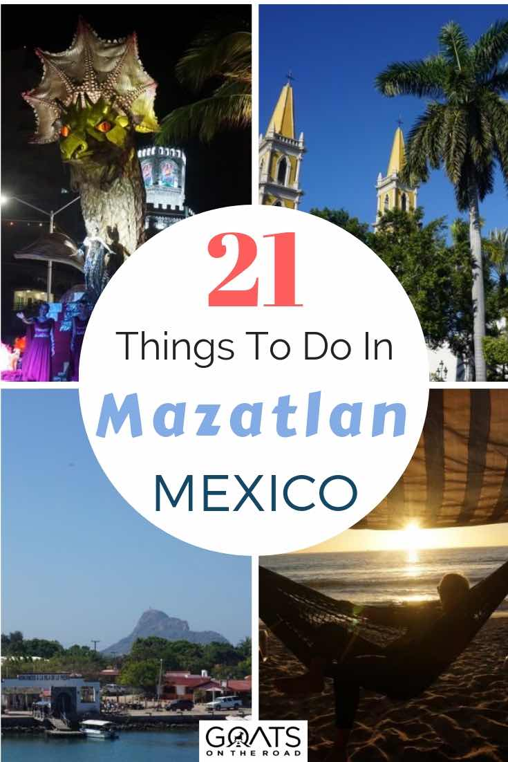 Mazatlan Mexico sites with text overlay