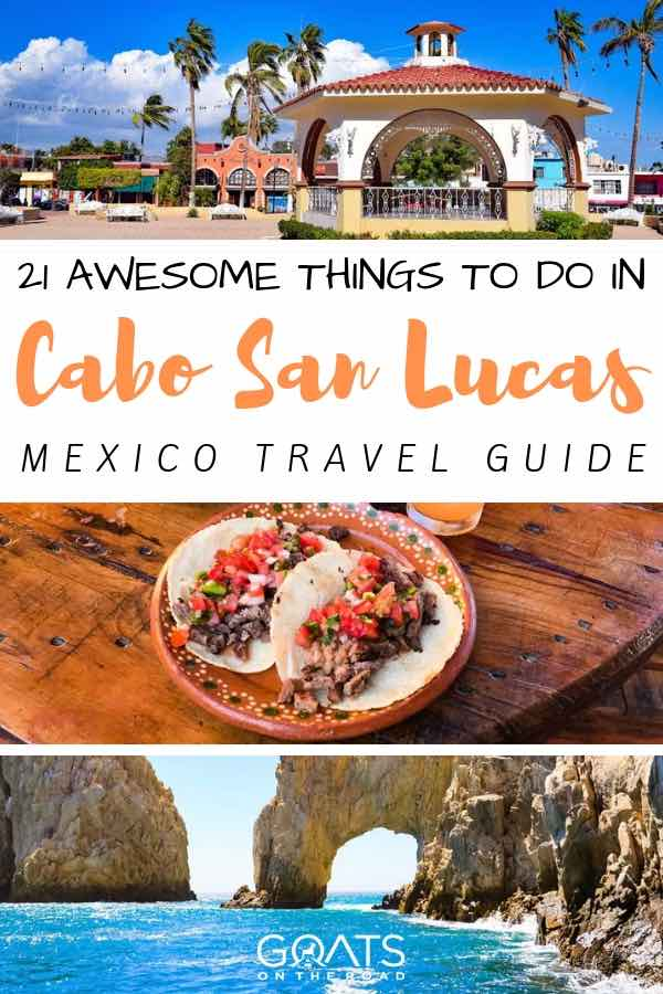 cabo san lucas sites with text overlay