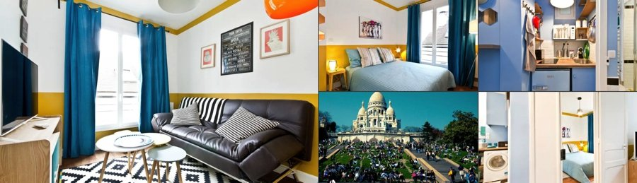 Montmarte Paris Airbnb Photos