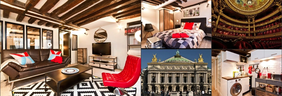 Paris Opera Loft Airbnb in Paris Pictures