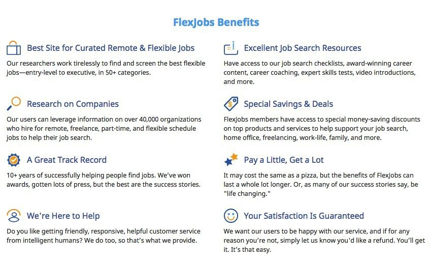 best remote work with flexjobs