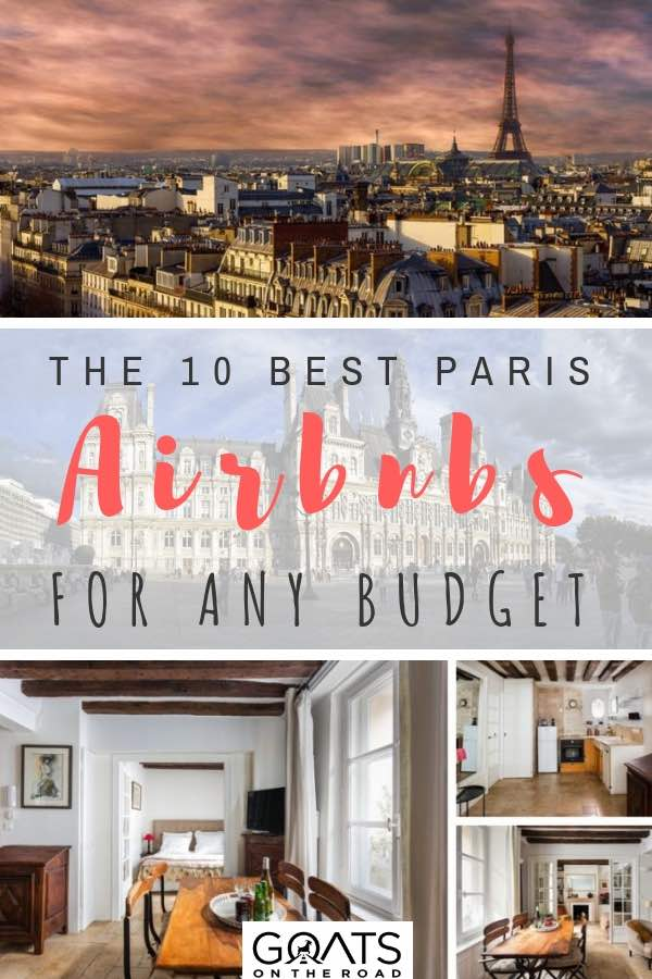 view of paris and airbnb for rent with text overlay
