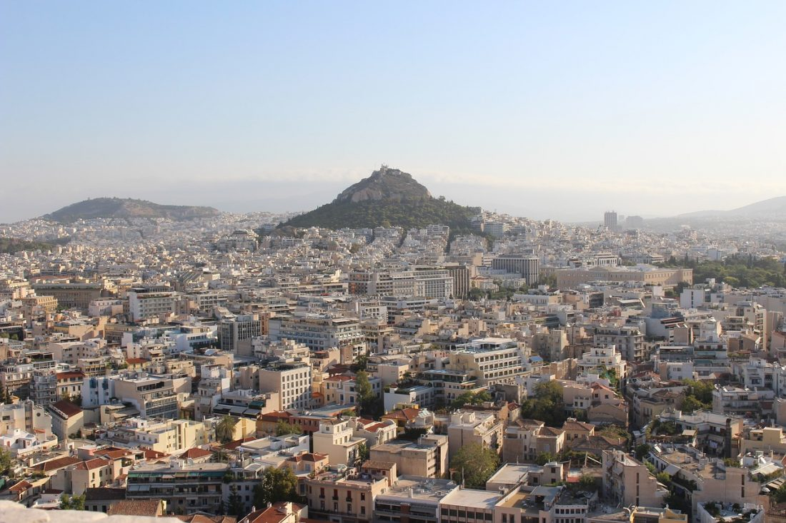 things to do in greece get a view of the city of athens