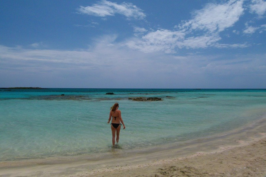 things to do in greece visit elafonisi beach in crete