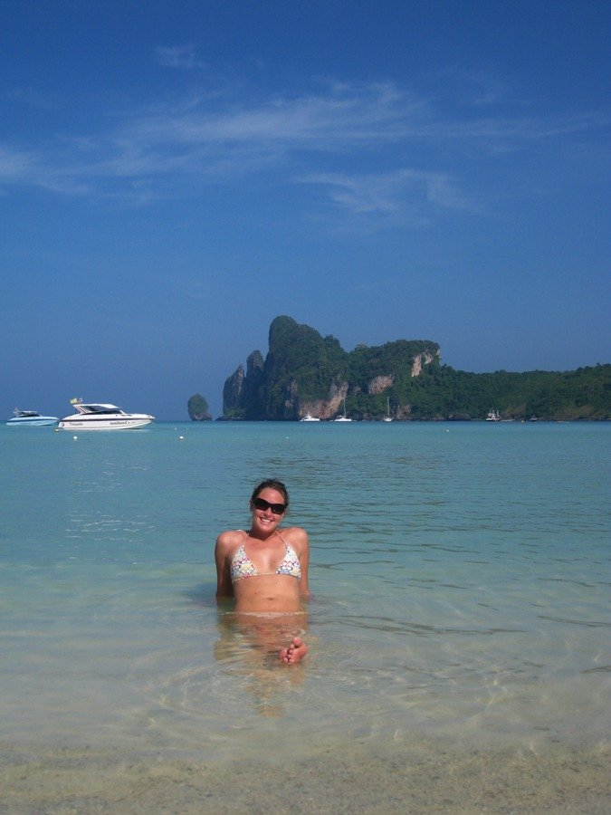 chillin out on koh phi phi is one of the top things to do in krabi