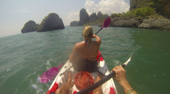 Krabi kayaking