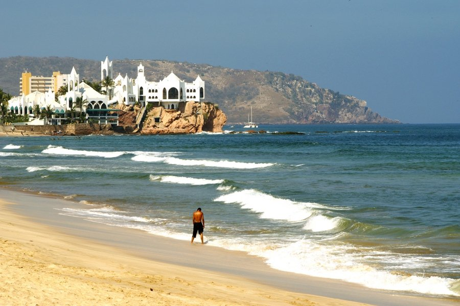 visiting the beach is one of the top things to do in mazatlan mexico