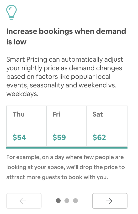 how much to charge per night as an airbnb host
