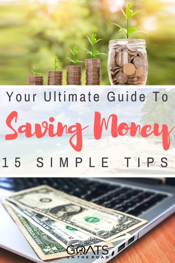 money saving tips with text overlay