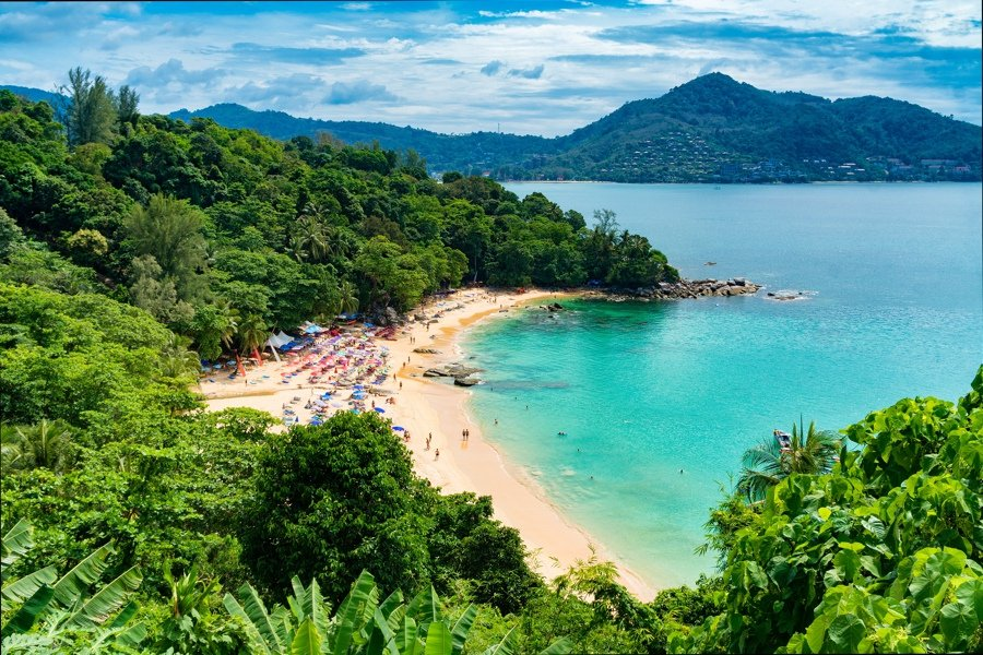 beach bumming is one of the fun things to do in phuket