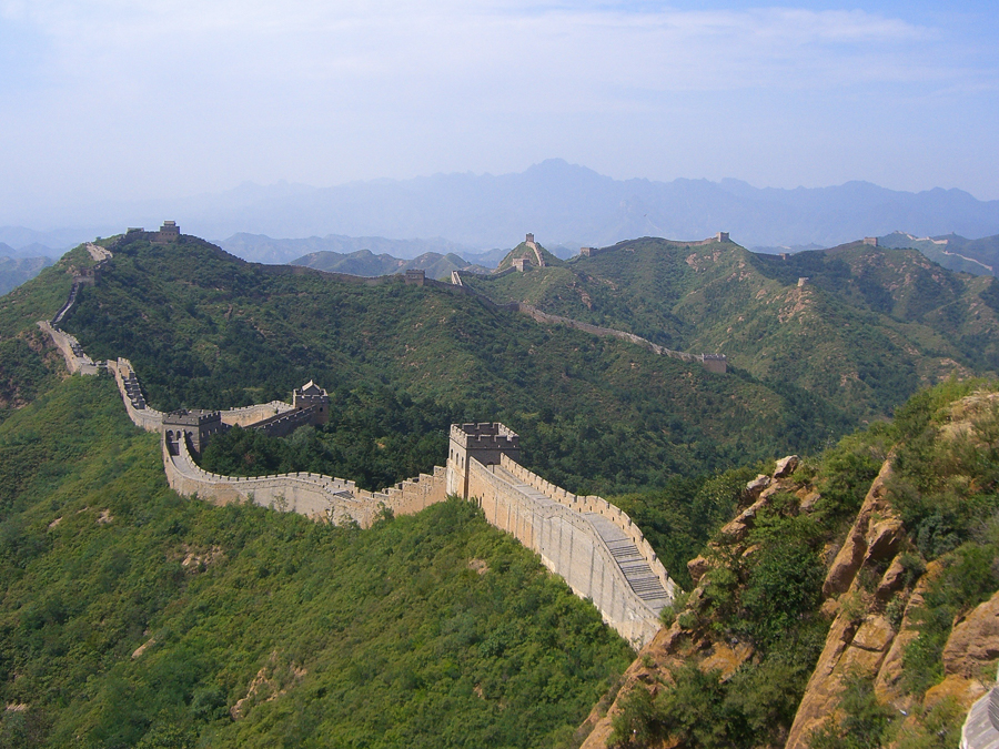 wondering what to do in beijing? visiting the great wall is a highlight