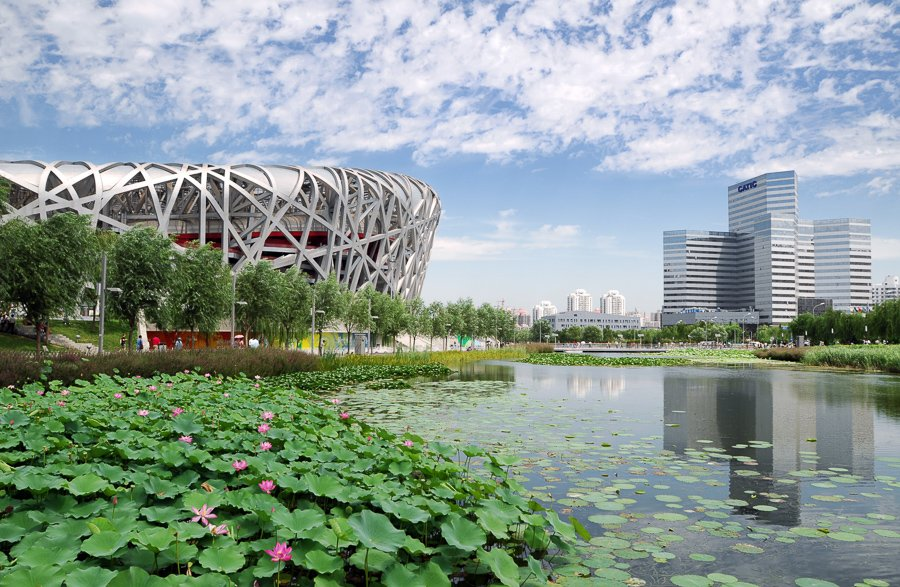 things to do in beijing, visit the Beijing Olympic Park