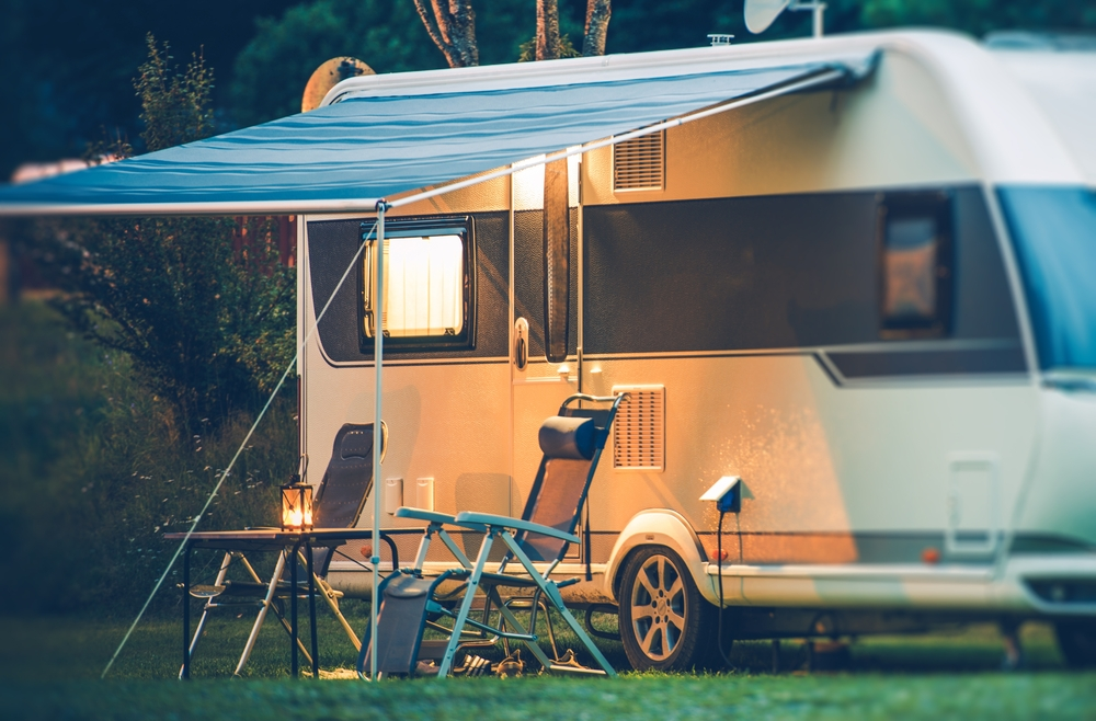 RV Camping Outdoors