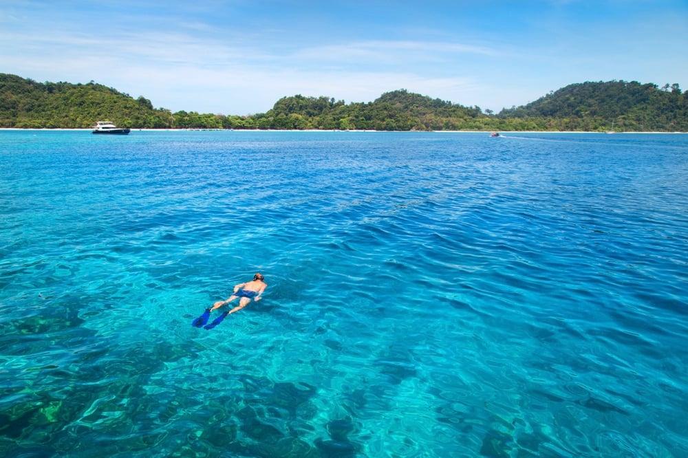 snorkelling koh rok