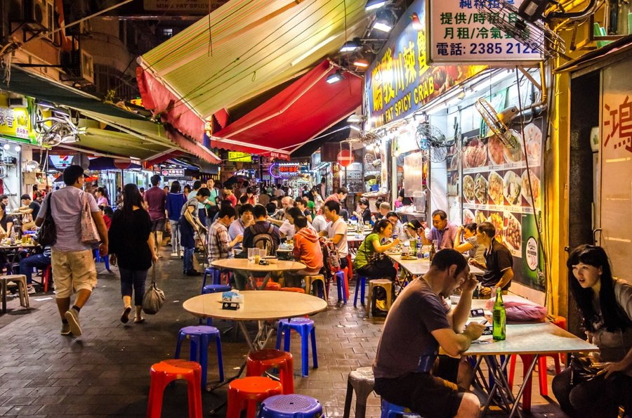 the night markets are one of the top places to visit in hong kong