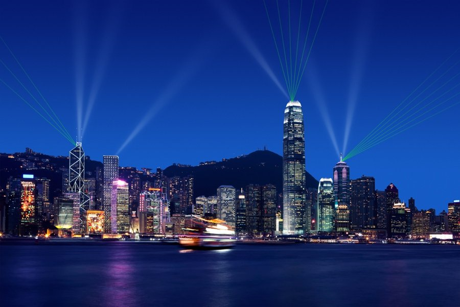 wondering what to do in hong kong? the symphony of lights is an amazing activity
