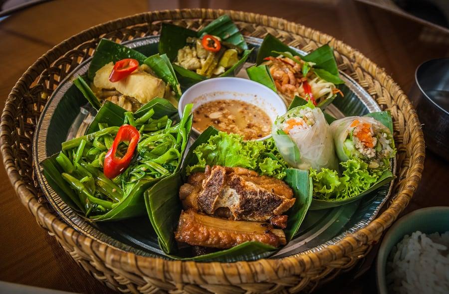 tasty cambodian food in siem reap