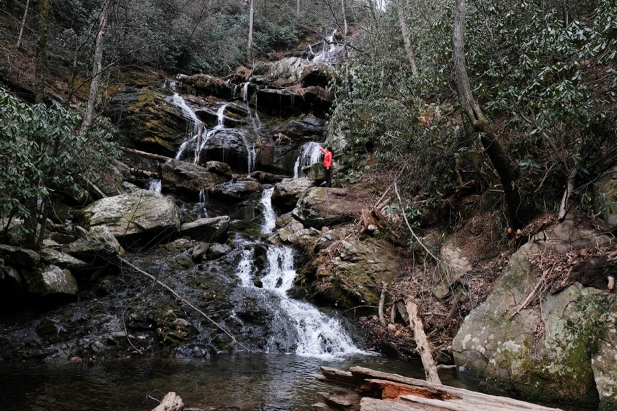catawba falls is a top attraction in asheville nc