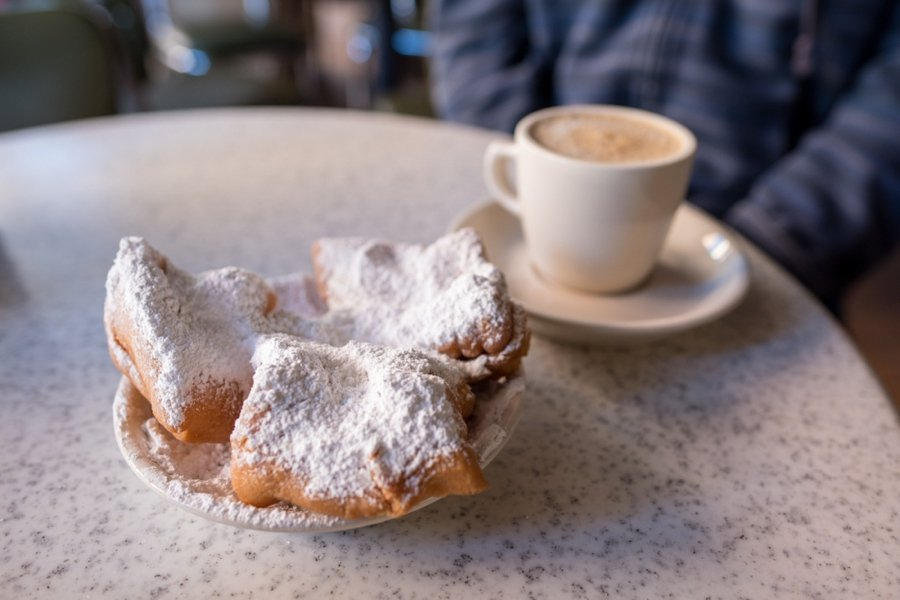 new orleans eating beignets is one of the top things to do