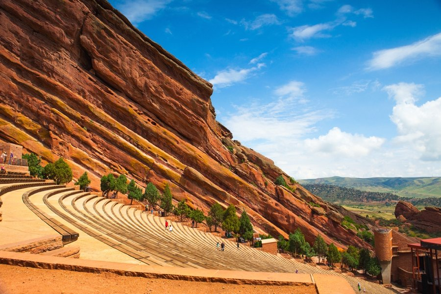 visiting the red rocks is one of the best denver attractions