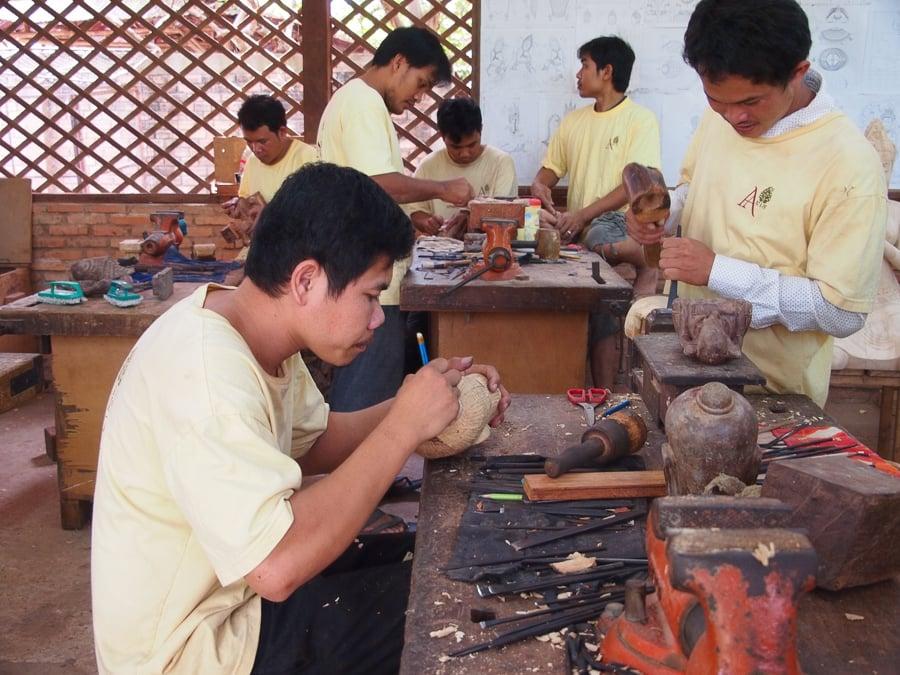 siem reap artisans market