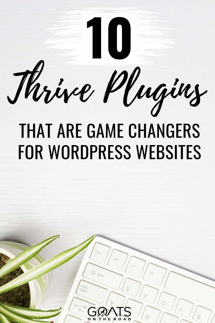 keyboard with text overlay 10 thrive plugins that are game changers for wordpress websites