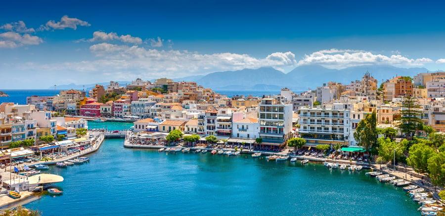 Agios Nikolaus crete greece