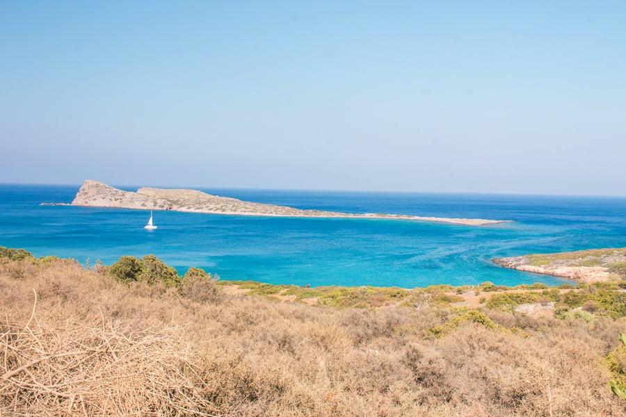 kolokitha beach crete greece