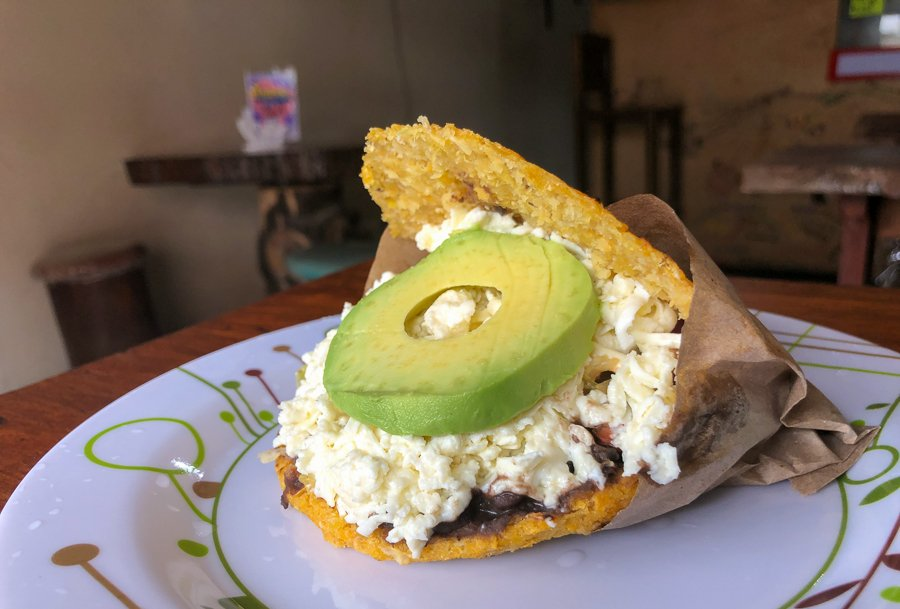 best places to eat in mindo don't miss the arepa